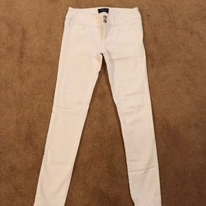 White American eagle pants- 00 Never Worn!